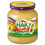Hak Appelcompote 0% 370ml
