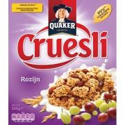 Quaker Cruesli Rozijn 500 gram