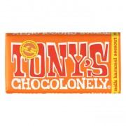 Tony's Chocolonely Chocoladereep Melk Karamel/Zeezout