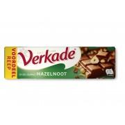 Verkade Blokreep melk/hazelnoot