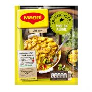 Maggi Maaltijdmix voor gehakt met prei en kerriesaus uit de oven
