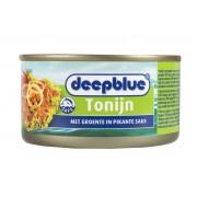 Deepblue Tonijn met Groenten in Pikante Saus
