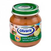 Olvarit 4mnd eerste hapje bruine bonen met appel