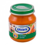 Olvarit 4mnd eerste hapje worteltjes