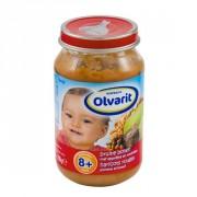 Olvarit 8mnd bruine bonen met appeltjes en rundvlees