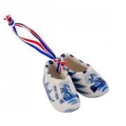 Buis Souvenirs Delftsblauwe klompjes 5 cm.