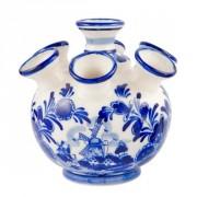 Buis Souvenirs Delftsblauwe Tulpvaas 7 Armen Molen