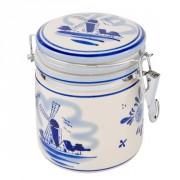 Buis Souvenirs Delftsblauwe Vacuum Pot met Deksel