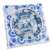 Buis Souvenirs Delftsblauw Wandbord 20 cm Molens Combi