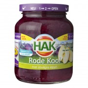 Hak Rode Kool met appel 370ml