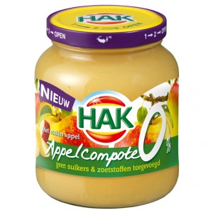 Appelcompote 0% 370ml