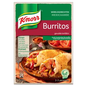 Wereldgerechten Mexicaanse Burritos