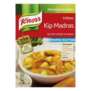 Wereldgerechten Indiase kip madras