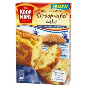Mix voor Oud-Hollandse Stroopwafelcake