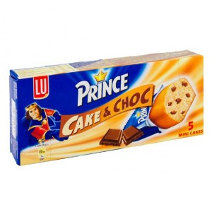 Choco Prince Cake en Choc (5 st)