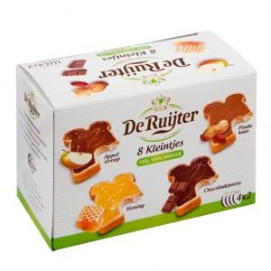 8 Kleintjes Assorti Appelstroop Pindakaas Honing Chocoladepasta
