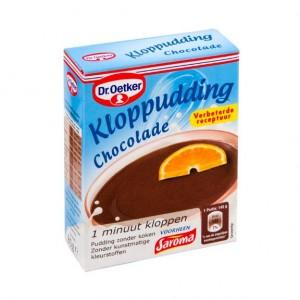 Kloppudding Chocolade