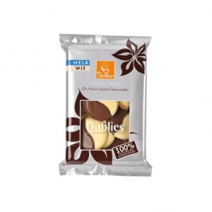 Chocolade Oublies melk/ wit