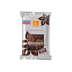 Chocoladebloemen melk/puur