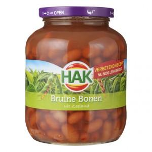 Bruine bonen uit Zeeland 710ml