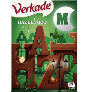 Chocoladeletter Hazelnoot/Melk