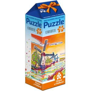 Puzzel Kinderdijk