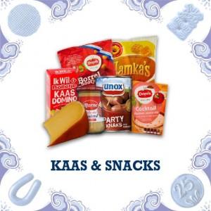 Oranje snackpakket