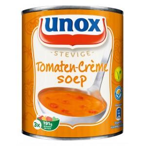 Stevige tomaten-crème soep