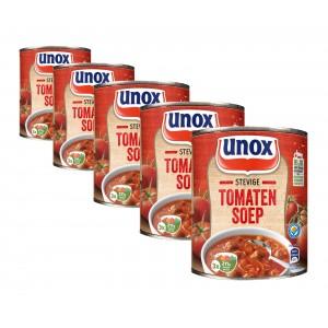Blik stevige tomatensoep Volumevoordeel