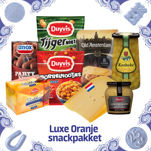Luxe Oranje snackpakket