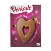 Verkade Chocolade hart 135gram