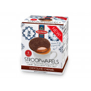 Daelmans Jumbo Chocolade Stroopwafels in Cube Doos