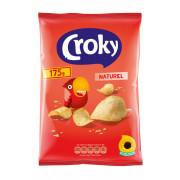 Croky Naturel chips 175gram OP=OP prijs