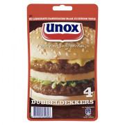 Unox Hamburgers Alu 160gram