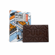Rotterdammertjes PUUR Holland chocolade 150 gram (pure chocolade)