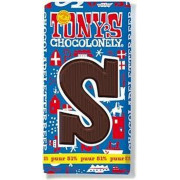 Tony's Chocolonely Chocolade Letter Puur S 180 gram