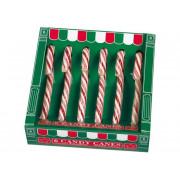 Heimweewinkel Fun Candycanes Rood/Wit 6stuks