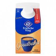 Friesche Vlag Goudband extra romig volle koffiemelk 455ml