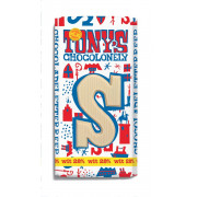 Tony's Chocolonely Chocolade Letter Wit met Pepernoot S 180 gram