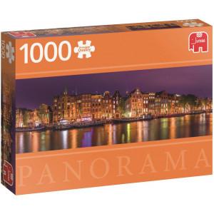 Amsterdam Skyline Panorama Premium Quality - Puzzel 1000 stukjes