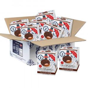 Jumbo Chocolade Stroopwafels in Cube Doos 8 stuks