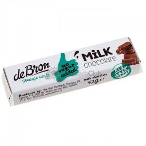 Suikervrije chocolade Reep Melk 42 gr.