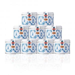 Caramel Stroopwafels in Delfts Blauw blikje 9 stuks
