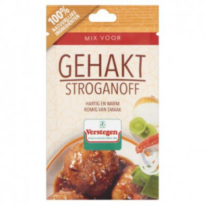Kruidenmix voor gehakt stroganoff 40gm