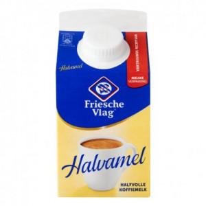 Vlag Halvamel halfvolle koffiemelk 455ml