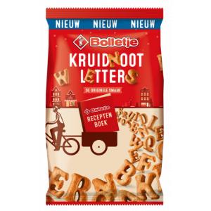 NIEUW Kruidnoten Letters 200 gram