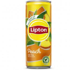 Lipton Ice tea peach Blikje 250ML