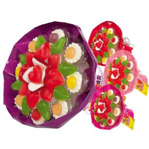Snoep bloemen boeket