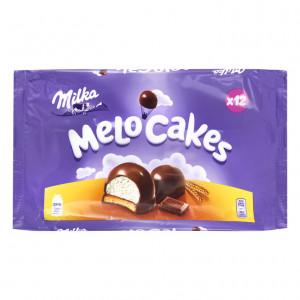 Melo cakes biscuits schuim en chocolade