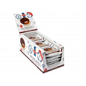 Jumbo Chocolade Stroopwafels – 18 x 2 (per twee verpakt)
